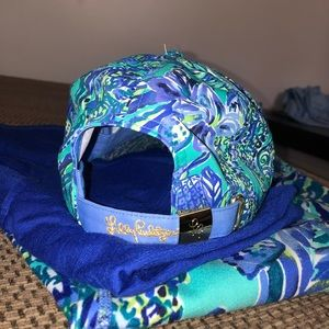 Lilly Pulitzer Accessories - Lilly Pulitzer Run Around Hat - Bennet Blue